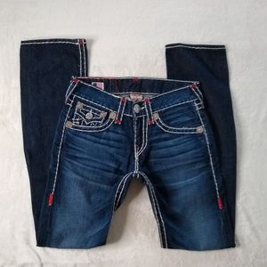 True Religion Ricky Super T Embroidered Jeans